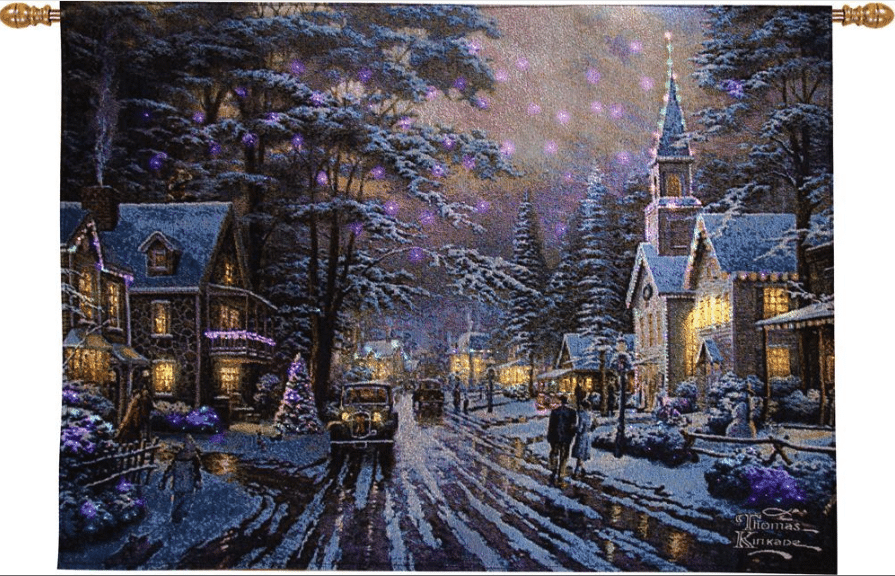 Thomas Kinkade Christmas Stockings