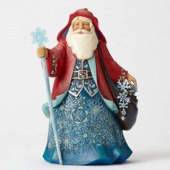 jim shore father frost winter wonderland santa