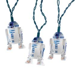 r2d2 star wars lights - R2d2 Christmas Lights