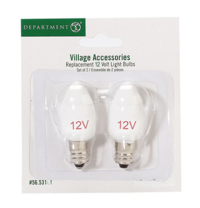 department 56 replacement 12v light bulb