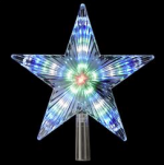 color changing star tree topper