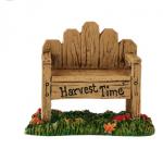department 56 harvest fields bench