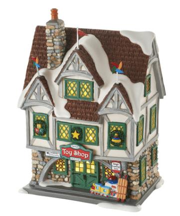 department 56 santas toy shop elf movie