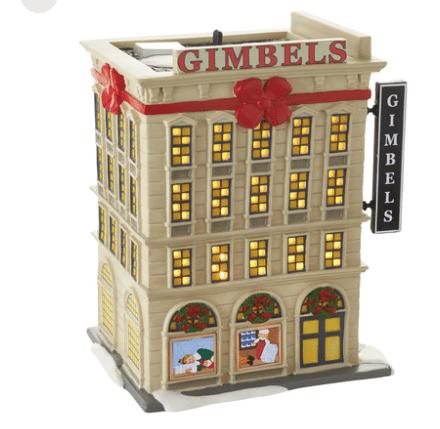 department 56 gimbals department store
