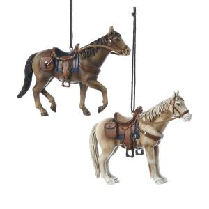western horse ornaments