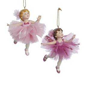 little pink ballerinas