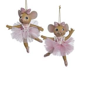 ballerina mice ornaments