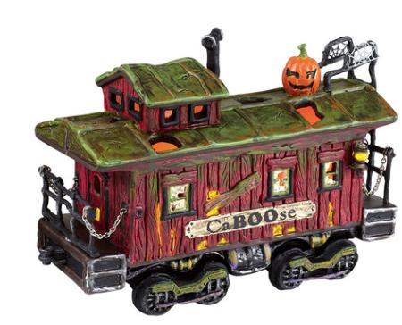 department 56 haunted rails caboose