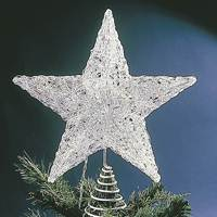 clear star tree topper