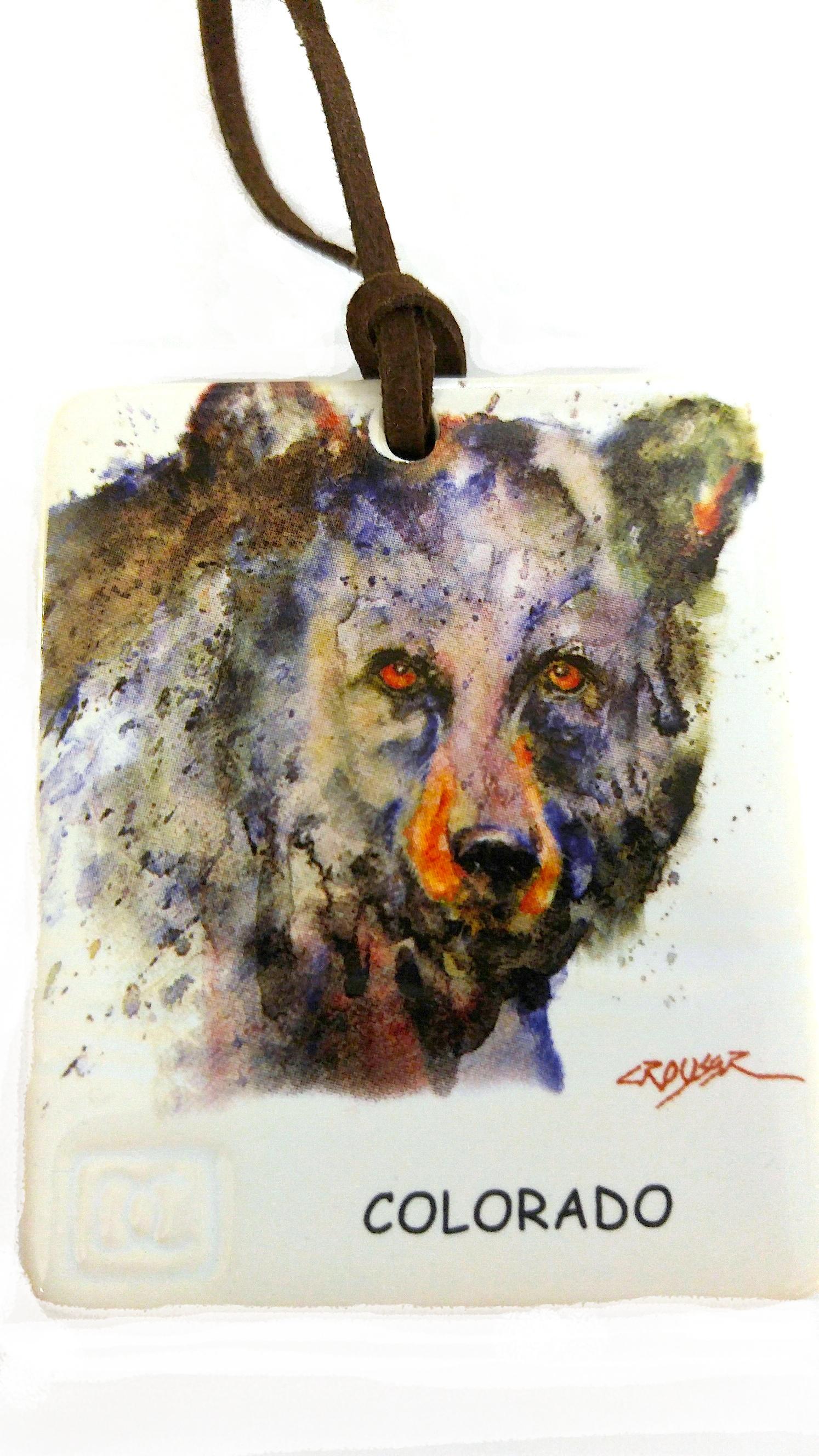 colorado bear ornament and magnet