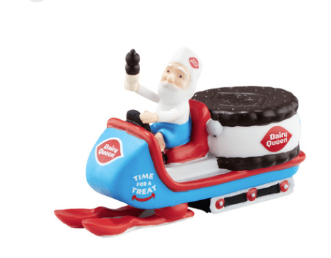 department 56 north pole mid year dairy queen delivers