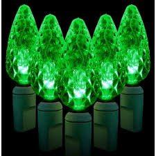 green led c6 spool of 200 lights