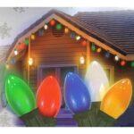 multi colored c9 christmas lights