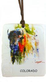 odm303 colorado buffalo magnet and ornament