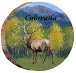 omi704 estes park colorado elk ornament