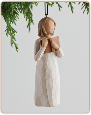 demdaco willow tree love of learning ornament