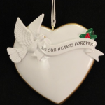 orm228 in our hearts forever ornament