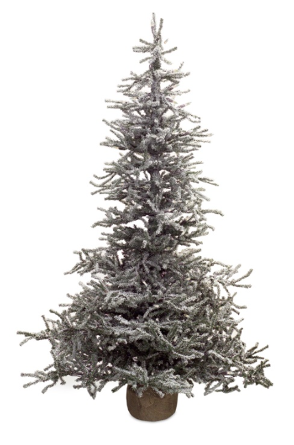 4 foot snowy pine pre lit led christmas tree