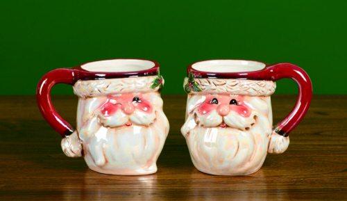 jolly santa coffee mug