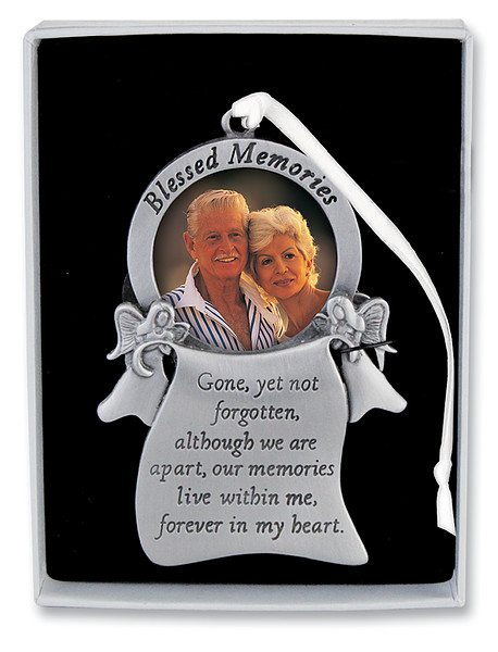box053 blessed memories memorial ornament