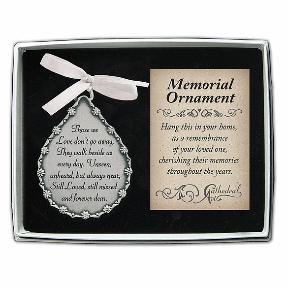 box253 those we love dont go away ornament