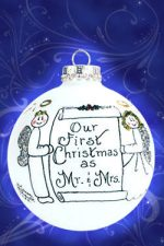 oh028 our first christmas as mr and mrs ornament