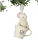 snowbabies worlds best mom ornament