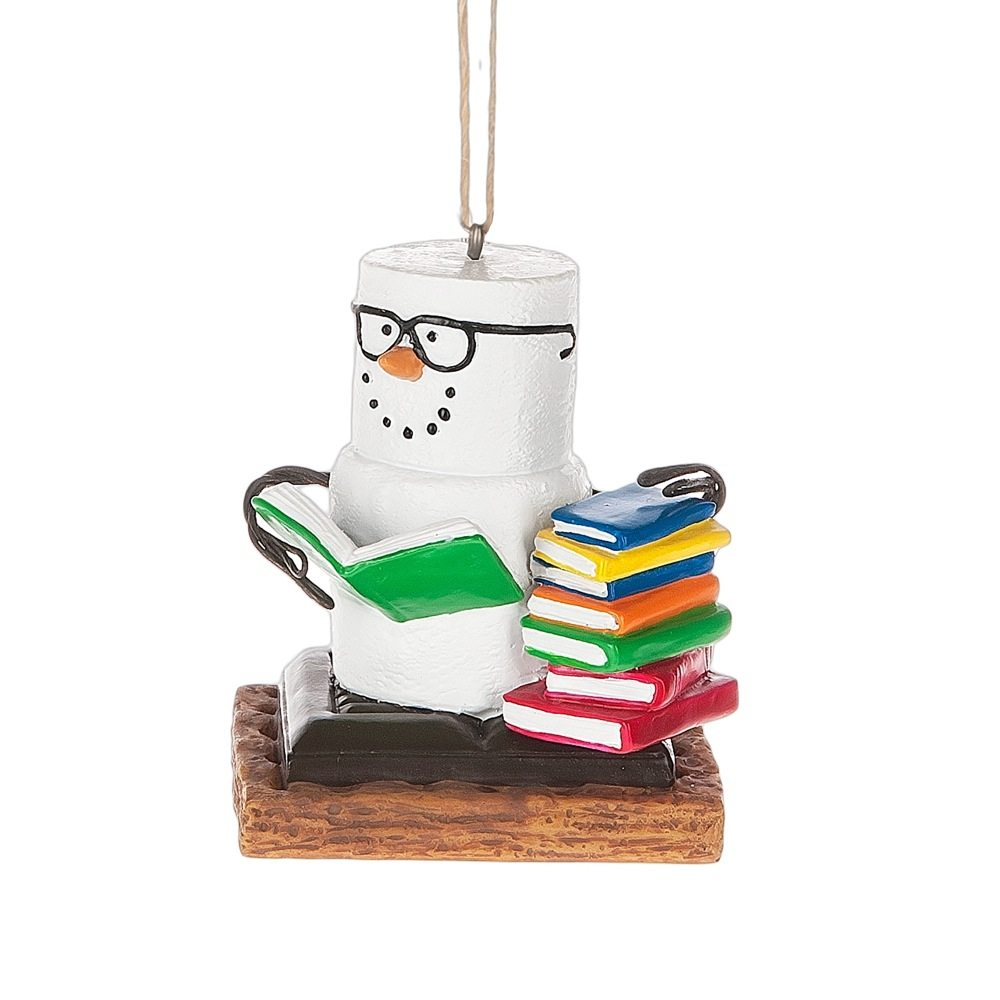 book club s'mores ornament