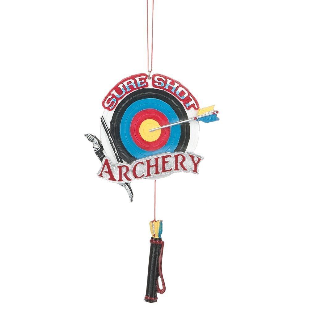 sure shot archery ornament