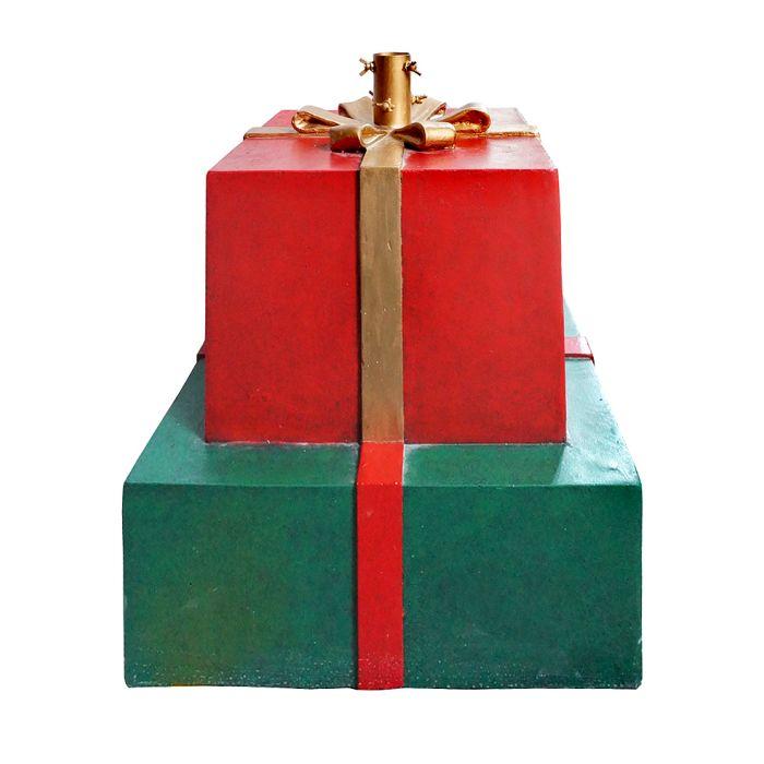 gift box tree stand