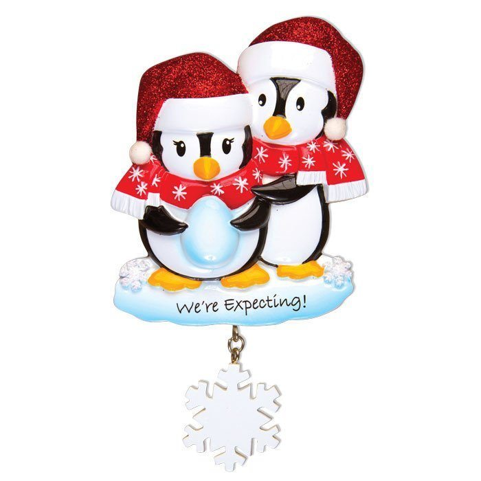 were expecting penguin ornament
