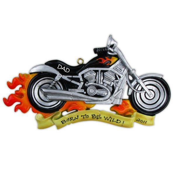 harley motorcycle ornament