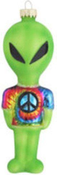 Tie Dye Alien