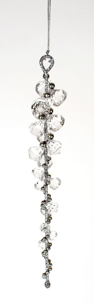 ode054 twist icicle ornament