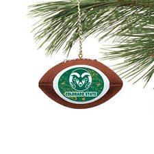 colorado state rams football ornament