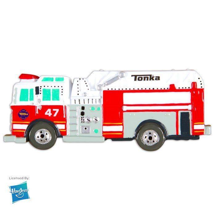 tonka firetruck ornament