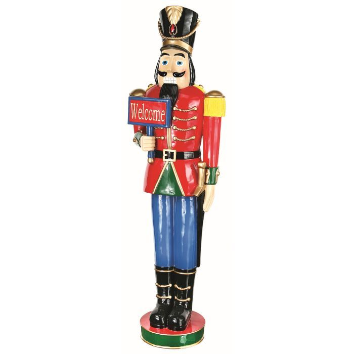 55 inch nutcracker yard art