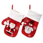 santa or snowman stocking