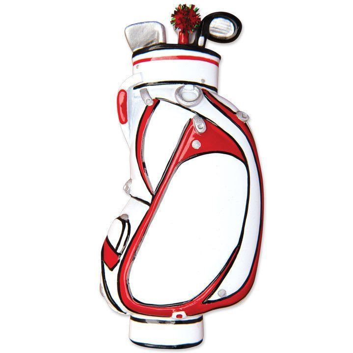 golf bag ornament