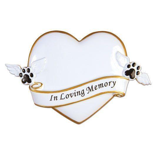 rest in peace pet memorial ornament