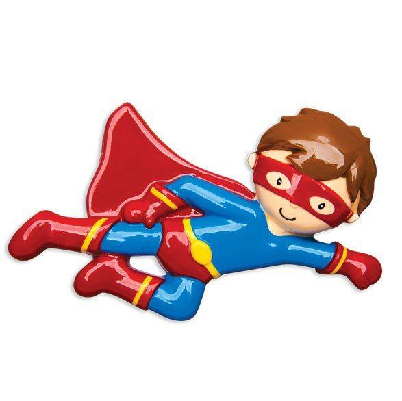 superhero ornament