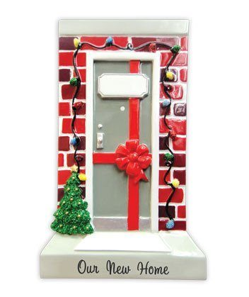 new home brick door ornament
