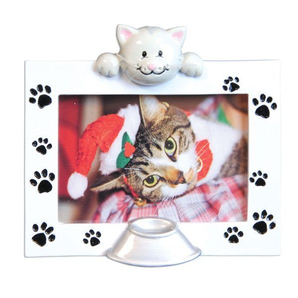 cat personalized ornament