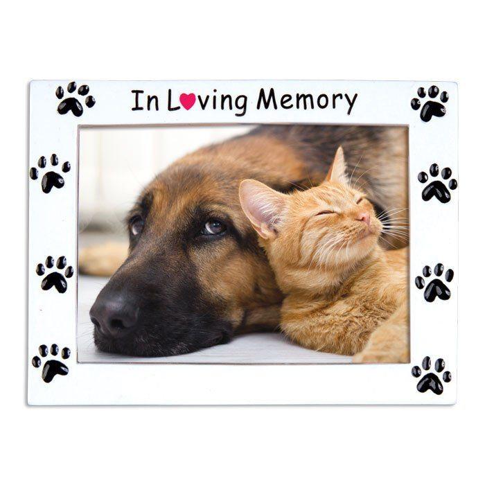 in loving memory pet frame ornament