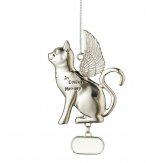 in loving memory cat memorial ornament