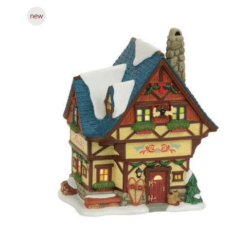 department 56 alpine village bavarian cottage