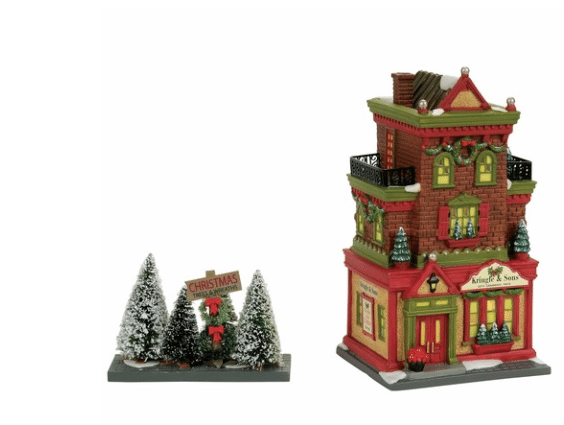 Department 56 kringle and sons boutique