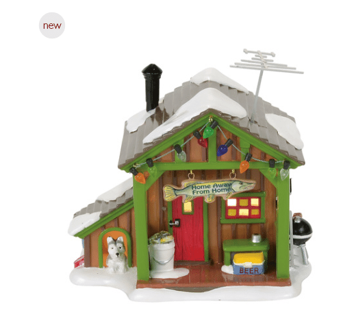 department 56 home away from home fish shack