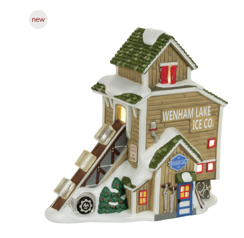 department 56 new england village wenham lake ice company