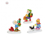department 56 north pole holiday elves